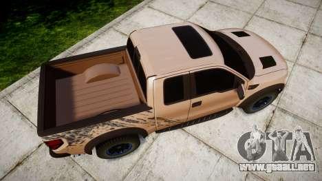 Ford F-150 Raptor para GTA 4 visión correcta