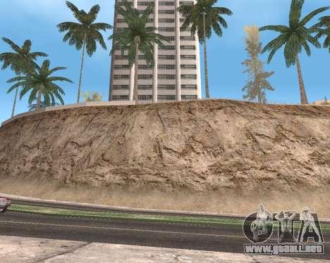 La textura de Los Santos de GTA 5 para GTA San Andreas novena de pantalla