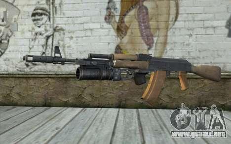 AK-74 Para asegurar a nuestros para GTA San Andreas