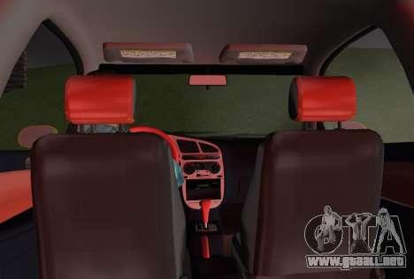 Daewoo Lanos Sport NOSOTROS 2001 para GTA Vice City interior