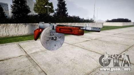 Subametralladora Thompson M1A1 tambor icon1 para GTA 4