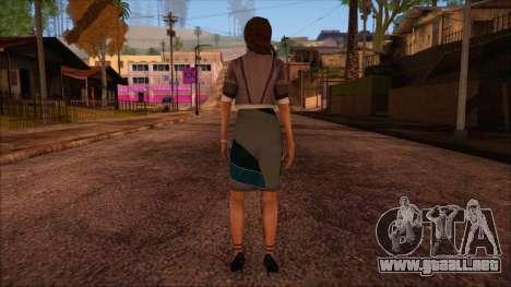 Modern Woman Skin 4 v2 para GTA San Andreas segunda pantalla