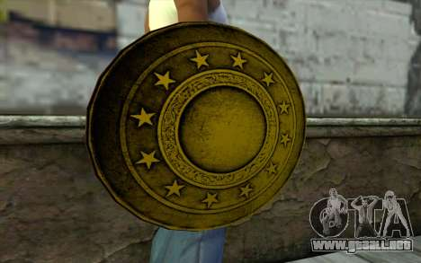 Old Gold Shield para GTA San Andreas tercera pantalla