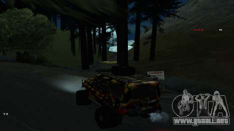 Трасса Offroad v1.1 por Rappar313 para GTA San Andreas