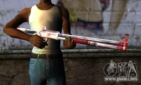 Chromegun Bloody para GTA San Andreas tercera pantalla