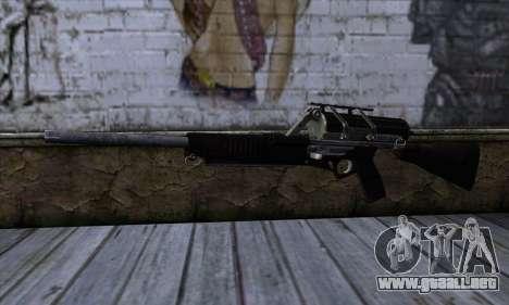 Calico M951S from Warface v2 para GTA San Andreas