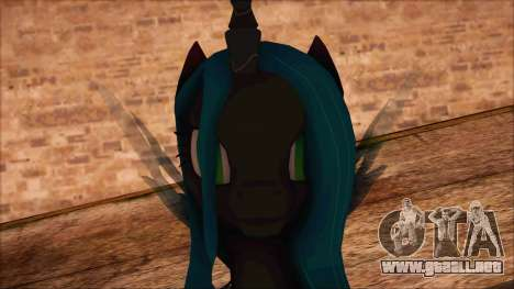 Chrysalis from My Little Pony para GTA San Andreas tercera pantalla
