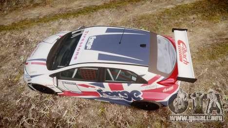 Honda Civic Type R para GTA 4 visión correcta
