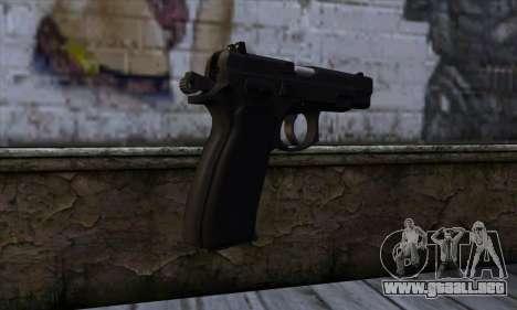 CZ75 v2 para GTA San Andreas segunda pantalla