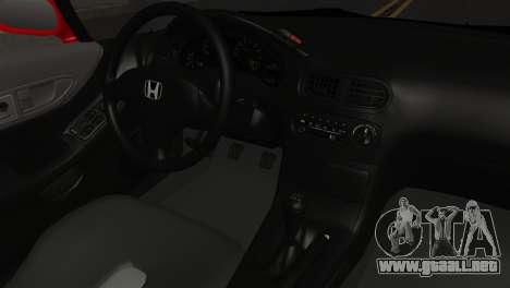 Honda CRX para la visión correcta GTA San Andreas