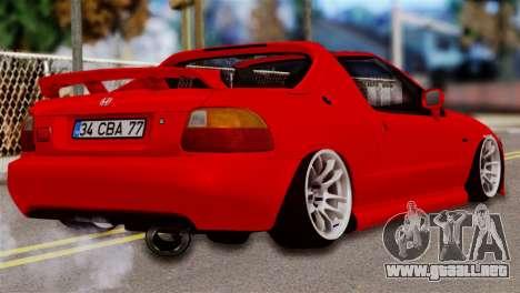 Honda CRX para GTA San Andreas left
