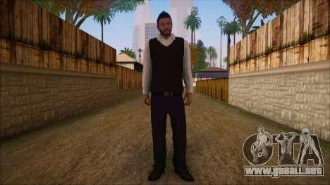 GTA 5 Online Skin 9 para GTA San Andreas