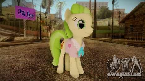 Peachbottom from My Little Pony para GTA San Andreas