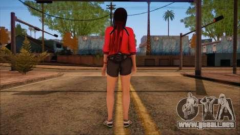 Modern Woman Skin 14 para GTA San Andreas segunda pantalla