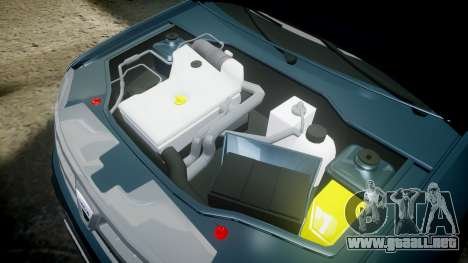 Dacia Duster 2013 para GTA 4 vista interior