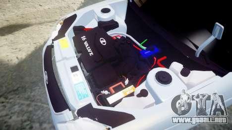 ВАЗ-Lada 2170 Priora de la Bombilla para GTA 4 vista lateral