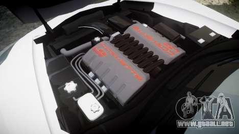 Chevrolet Corvette Z06 2015 TireMi5 para GTA 4 vista lateral