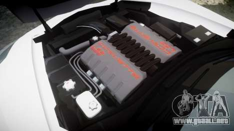 Chevrolet Corvette Z06 2015 TirePi2 para GTA 4 vista lateral