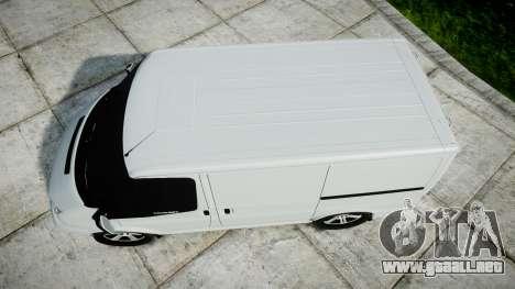 Ford Transit 2011 SuperSportVan para GTA 4 visión correcta