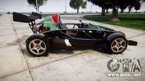 Ariel Atom V8 2010 [RIV] v1.1 Truran Air para GTA 4 left