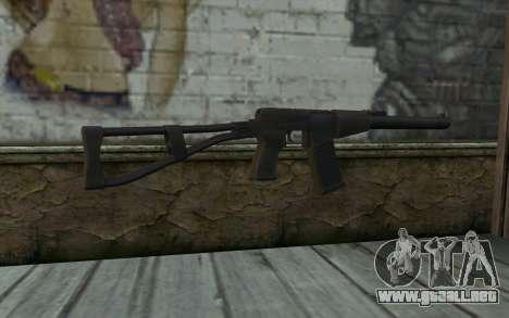 AU VAL (Battlefield 3) para GTA San Andreas segunda pantalla