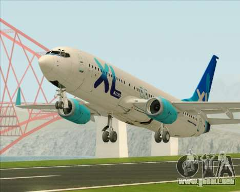 Boeing 737-800 XL Airways para GTA San Andreas