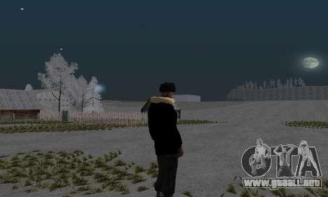 Chaqueta de invierno para GTA San Andreas segunda pantalla