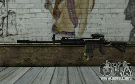 M4A1 from COD Modern Warfare 3 para GTA San Andreas