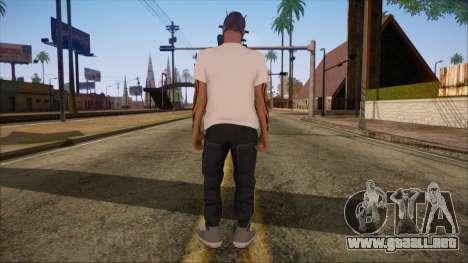 GTA 5 Online Skin 7 para GTA San Andreas segunda pantalla