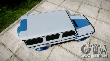 Mercedes-Benz G55 AMG Grand Edition Hamann para GTA 4 visión correcta