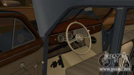 Packard Touring  Sedan para GTA San Andreas vista hacia atrás