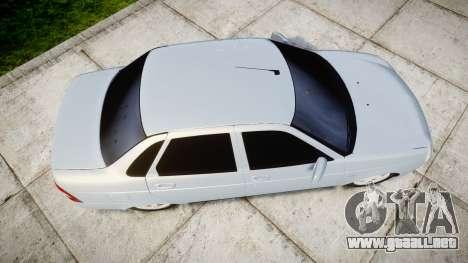 ВАЗ-Lada 2170 Priora de la Bombilla para GTA 4 visión correcta