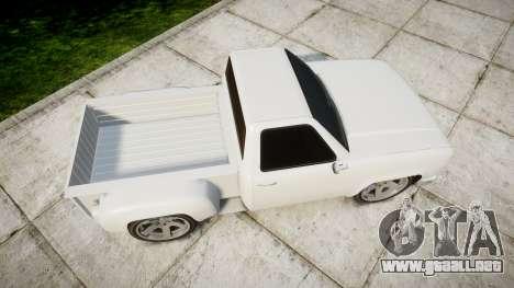 Vapid Bobcat Badass para GTA 4 visión correcta