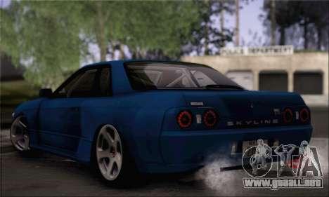Nissan GT-R32 para GTA San Andreas left