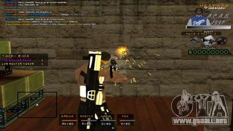 C- HUD A.C.A.B para GTA San Andreas tercera pantalla