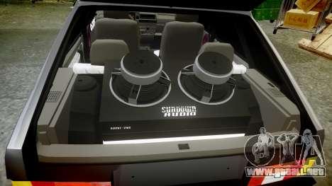 VAZ-2109 Nueve para GTA 4 vista superior