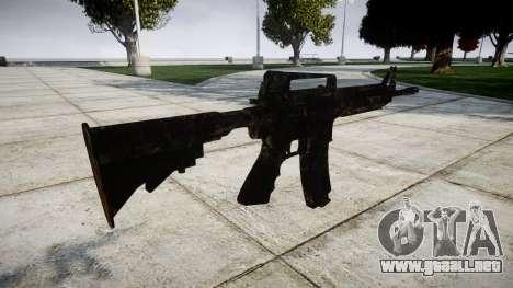 La carabina M4 CQB para GTA 4 segundos de pantalla