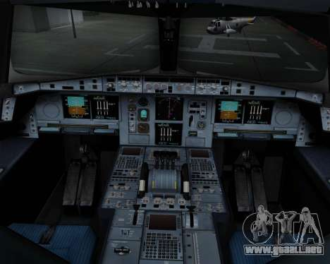 Airbus A380-800 Air China para GTA San Andreas interior