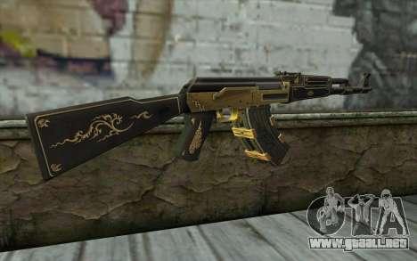 AK47 from PointBlank v1 para GTA San Andreas segunda pantalla