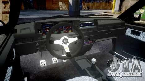 VAZ-2109 aleación para GTA 4 vista interior