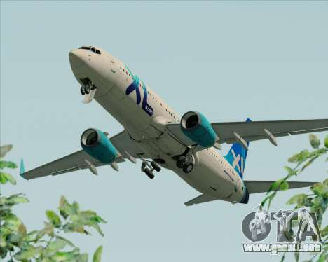 Boeing 737-800 XL Airways para el motor de GTA San Andreas