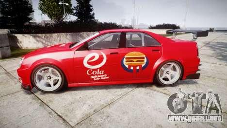 Albany Presidente Racer [retexture] eCola para GTA 4 left