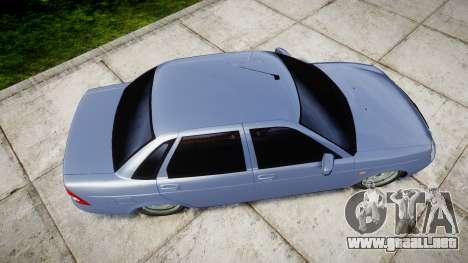 ВАЗ-2170 Instalado Priora de Calidad v2.0 para GTA 4 visión correcta