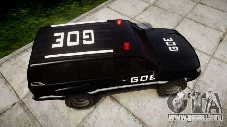 Toyota Land Cruiser 100 GOE [ELS] para GTA 4 visión correcta