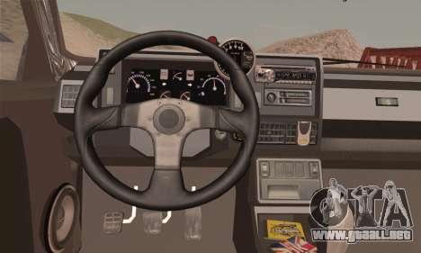 Renault 5 para GTA San Andreas vista posterior izquierda