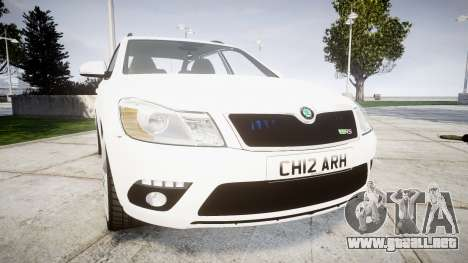 Skoda Octavia vRS Combi Unmarked Police [ELS] para GTA 4