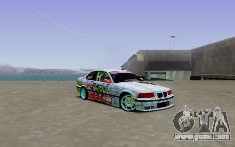 BMW E36 Bridgstone para GTA San Andreas