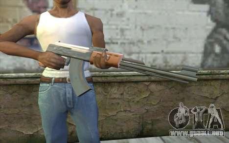 AK-47 Sin la Culata para GTA San Andreas tercera pantalla