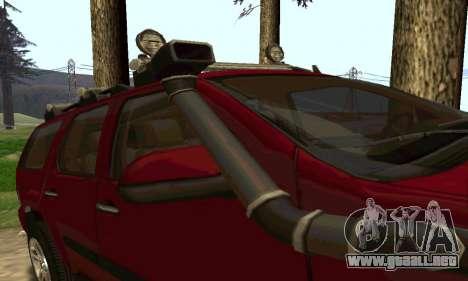 Chevrolet Tahoe Final para la visión correcta GTA San Andreas