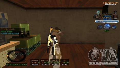 Excelente C-HUD para GTA San Andreas segunda pantalla